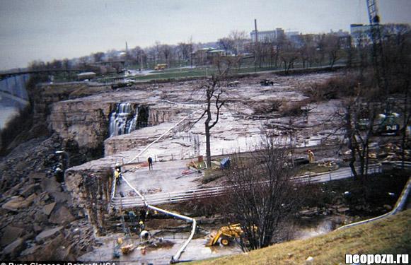 День, когда Ниагарский водопад остановился