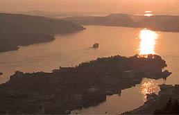 Норвегия, Берген -  онлайн камера