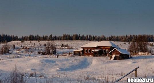 Брошеная деревня Ужгинское