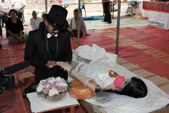 свадьба с мертвой невестой