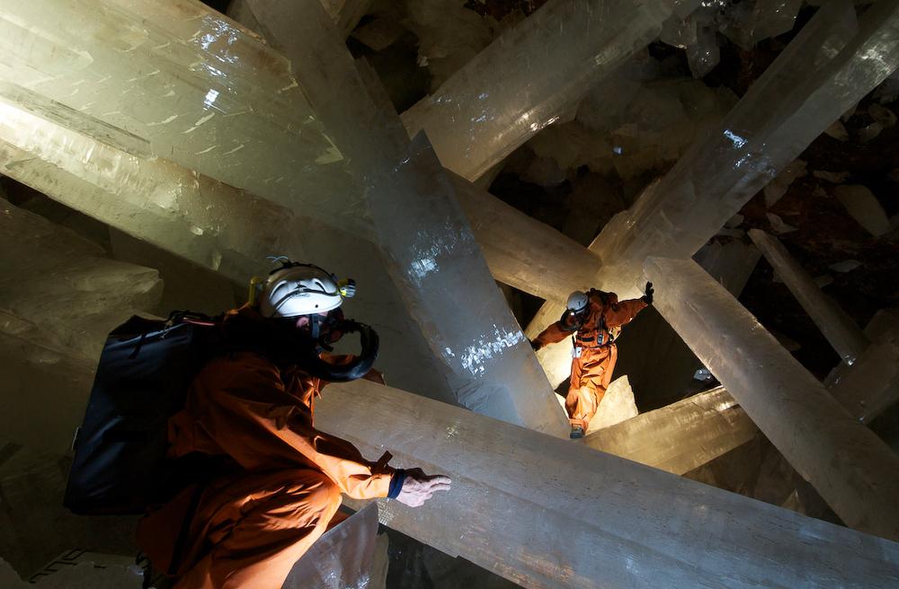 Пещера кристаллов Мексика