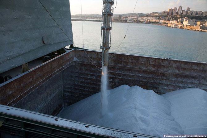 как добывают соль на Сицилии