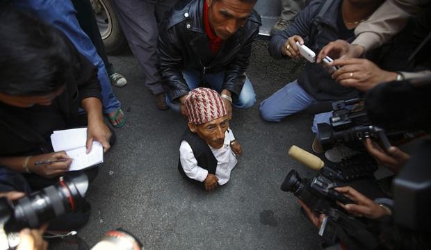Самый маленький человек в мире найден в непальской деревне