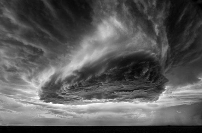 Красота грозовых облаков
