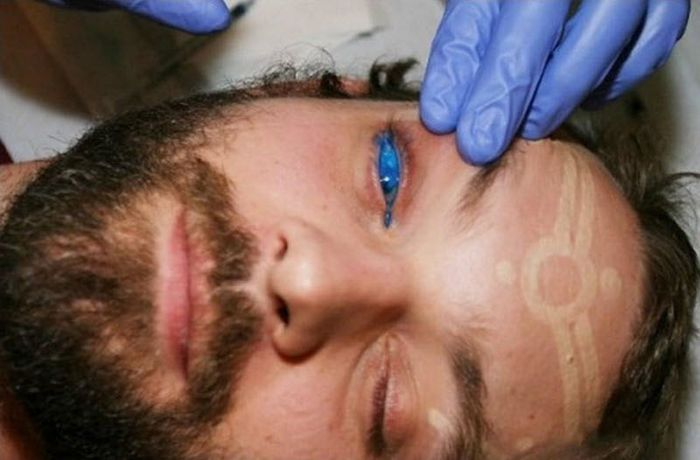 татуировка на глазу