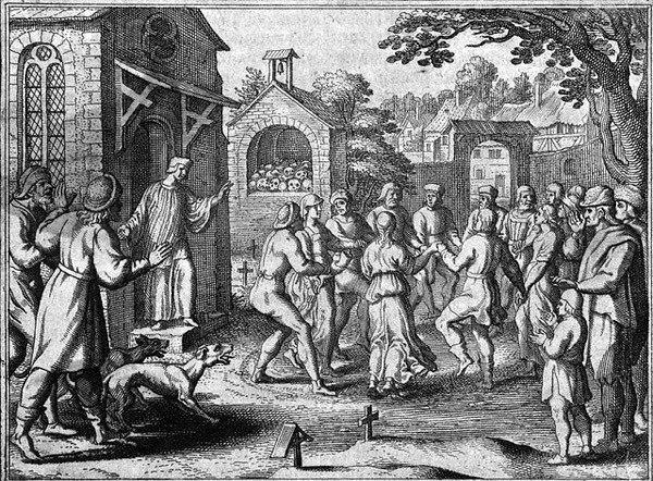 Средневековая танцевальная чума