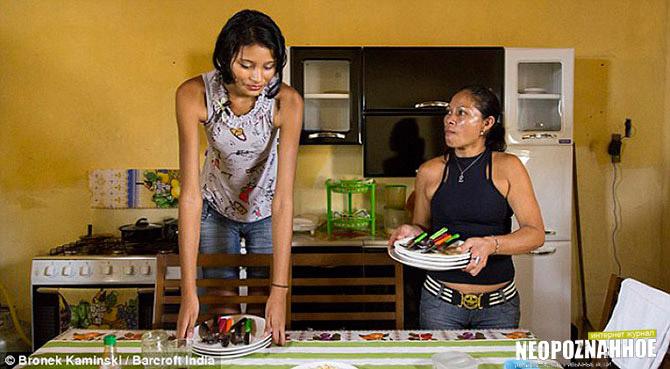 Самая высокая в мире девушка Элисани-да-Крус-Силва