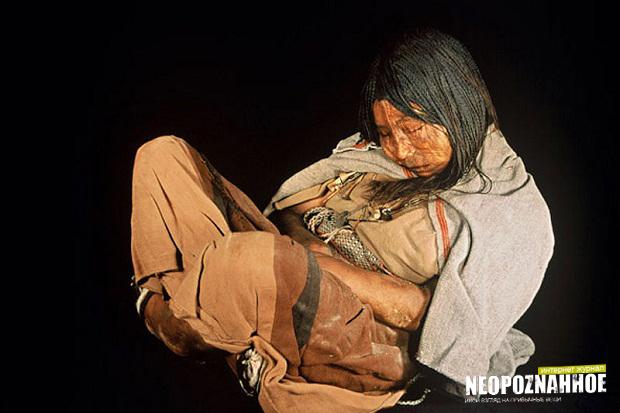 Невероятное открытие археологов  девочка из племени инков, которой более 500 лет