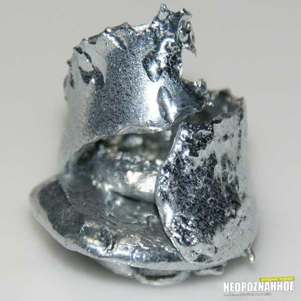 Галий металл тающий в руках