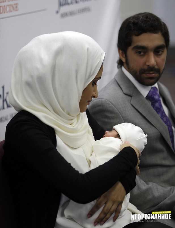 Рождение ребенка женщиной с донорскими органами