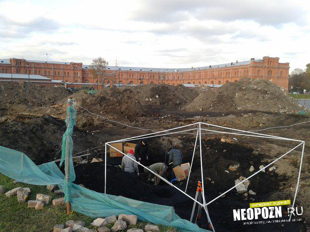 Расстрельные ямы в центре Петербурга